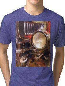 Headlight from 1917 Truck Tri-blend T-Shirt