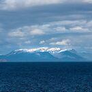 Sun Struck Mountain, Alaska/Canada Border by DPalmer