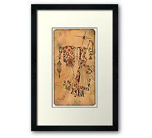 The Hermit - Major Arcana Framed Print