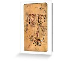 The Hermit - Major Arcana Greeting Card