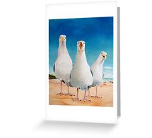 Beach boys Greeting Card