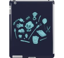 The Curse of Monkey Island Inventory (blue) iPad Case/Skin