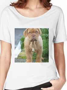 CUTE WRINKLY PUPPY Women's Relaxed Fit T-Shirt
