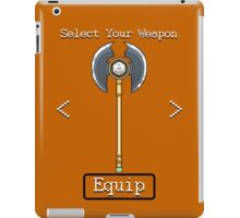 D&D Select Your Weapon:Axe iPad Case/Skin