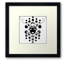 A Sigil for the Morning, a Sigil of Warning Framed Print