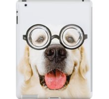 Four eyed dog iPad Case/Skin