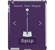 D&D Select Your Weapon:Staff&Spell Book iPad Case/Skin