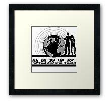 O.2.S.T.K. Framed Print