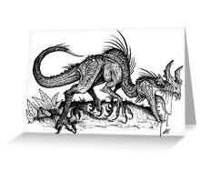 Scavenger Raptor Greeting Card