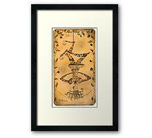 The Hanged Man - Major Arcana Framed Print