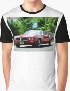 Red Firebird Convertible Graphic T-Shirt