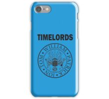 Time Lords 1 iPhone Case/Skin