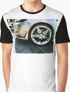Shiny Wheels Graphic T-Shirt