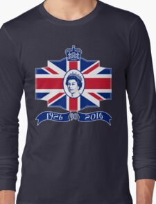 Queen Elizabeth 90th Birthday Long Sleeve T-Shirt