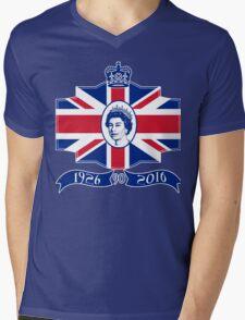 Queen Elizabeth 90th Birthday Mens V-Neck T-Shirt