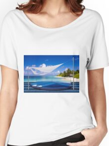 Luxury resort in the Maldives Women's Relaxed Fit T-Shirt