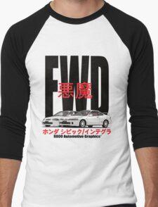 FWD Honda Demons Men's Baseball ¾ T-Shirt