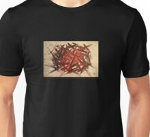 RAW 2 : red Unisex T-Shirt