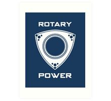 Rotary Power Art Print