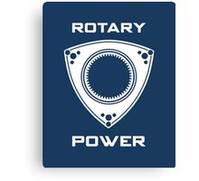 Rotary Power Canvas Print