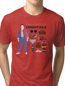Back to the Future : Time Traveler Essentials 1985 Tri-blend T-Shirt