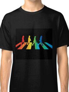 The Beatles Abbey Road Rainbow Classic T-Shirt