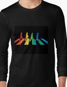 The Beatles Abbey Road Rainbow Long Sleeve T-Shirt