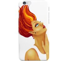 My head is aflame iPhone Case/Skin