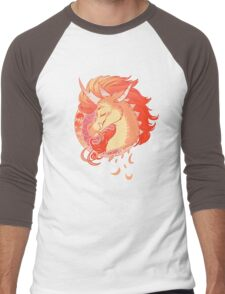Sunset Kirin Nouveau Men's Baseball ¾ T-Shirt