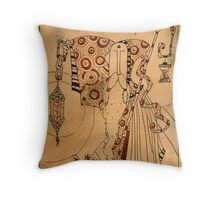 The Hermit - Major Arcana Throw Pillow