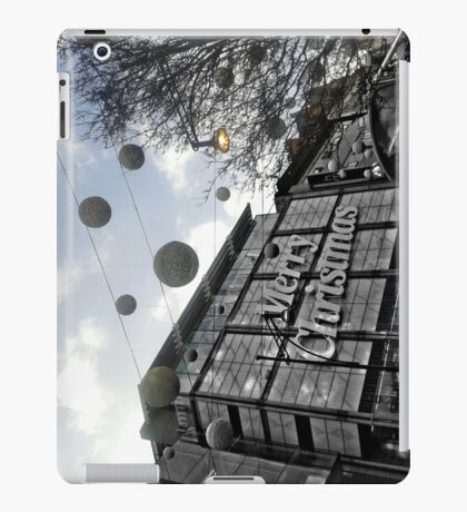 Oxford Merry Christmas iPad Case/Skin