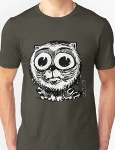 big eyes small black and white cat T-Shirt
