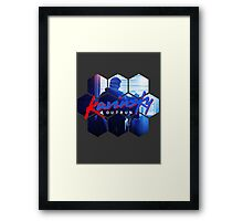 Kavinsky - OUTRUN Fan T-shirt Framed Print