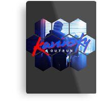 Kavinsky - OUTRUN Fan T-shirt Metal Print