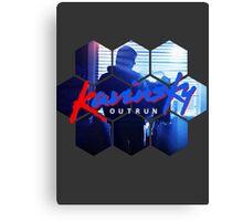 Kavinsky - OUTRUN Fan T-shirt Canvas Print