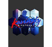 Kavinsky - OUTRUN Fan T-shirt Photographic Print