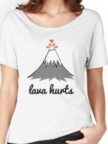 LAVA HURTS Women's Relaxed Fit T-Shirt