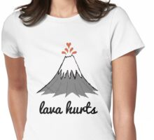 LAVA HURTS Womens Fitted T-Shirt
