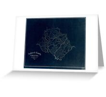 120 Amherst County Virginia Inverted Greeting Card