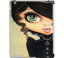 Victorian Gothic - Vampire Girl iPad Case/Skin