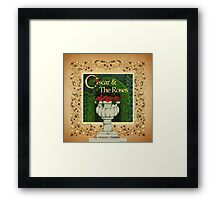 Oscar & the Roses front cover image Framed Print