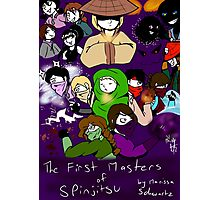The First Masters of Spinjitsu Webcomic Cover Photographic Print