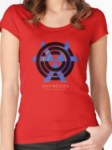 CHVRCHES Fan T-shirt Women's Fitted Scoop T-Shirt