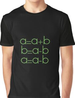 Swap Variables Graphic T-Shirt