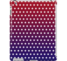 Red, White and Blue Star Pattern iPad Case/Skin
