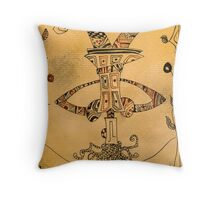The Hanged Man - Major Arcana Throw Pillow