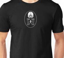 Star Trek - Ferengi Oval Badge - White Clean Unisex T-Shirt