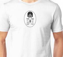 Star Trek - Ferengi Oval Badge - Black Clean Unisex T-Shirt