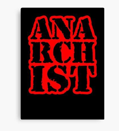 Another anarchist design/slogan Canvas Print