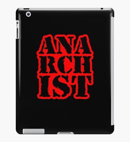 Another anarchist design/slogan iPad Case/Skin